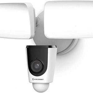 amcrest smarthome 1080p wifi outdoor security camera with floodlight