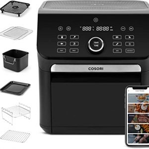 cosori 14 in 1 smart large air fryer oven xl 7qt with 6 accessories wi fi