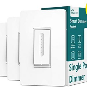 dimmer light switch treatlife smart light switch 4 pack works with alexa
