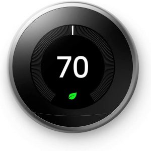 google nest learning thermostat programmable smart thermostat for home