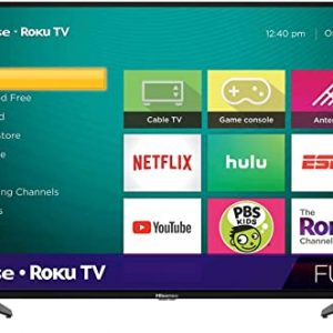 hisense 40 inch class h4 series led roku smart tv with alexa compatibility
