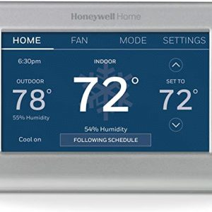 honeywell home rth9585wf1004 wi fi smart color thermostat 7 day