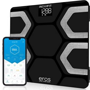 inevifit eros bluetooth body fat scale smart bmi highly accurate digital
