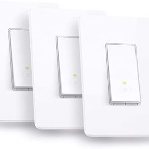kasa smart hs200p3 wi fi switch by tp link 3 pack control lighting from