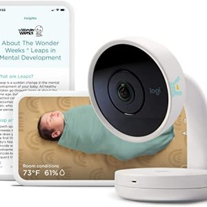 lumi by pampers smart baby monitor hd video baby monitor with camera and