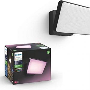 philips hue discover outdoor white color ambiance smart floodlight hue hub