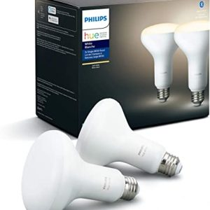 philips hue white 2 pack br30 led smart bulb bluetooth zigbee compatible