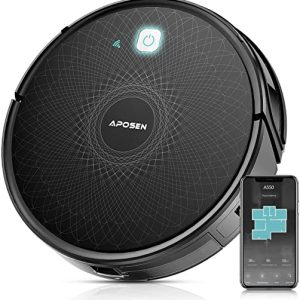 robot vacuum cleaner aposen smart wifi robot vacuum with mapping technology