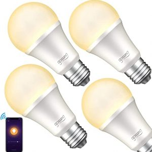 smart light bulb gosund dimmable wifi led light bulbs that works with alexa