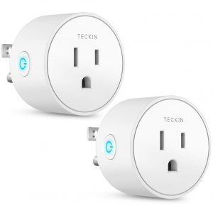 smart plug works with alexa google assistant smartthings for voice control