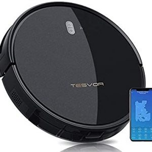 tesvor robot vacuum cleaner 4000pa strong suction robot vacuum alexa voice