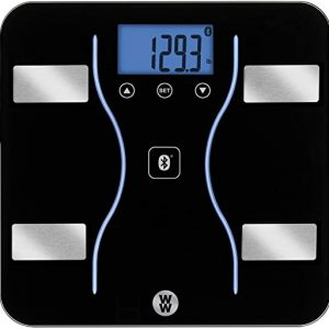 ww scales by conair bluetooth body analysis bathroom scale measures body