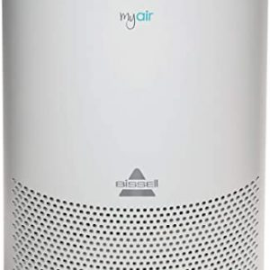 bissell myair purifier with high efficiency and carbon filter for small room