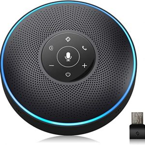 bluetooth speakerphone conference speaker for 5 8 people business