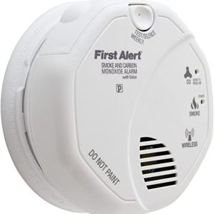 first alert wireless interconnected photoelectric smoke and carbon monoxide