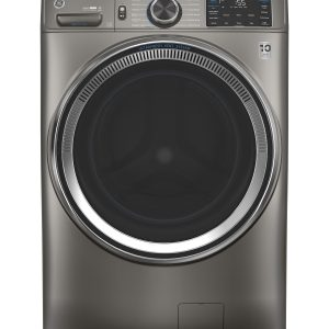 ge appliances smart 48 cu ft energy star front load washer with steam wash