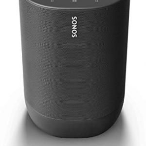 sonos move battery powered smart speaker wi fi and bluetooth with alexa