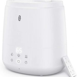 taotronics humidifiers for bedroom 6l warm and cool mist humidifiers for