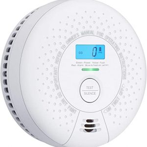x sense 10 year battery not hardwired smoke and carbon monoxide alarm with